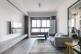 太原93㎡简约风三居室装修,尽显极致美感