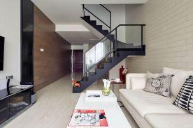 福州简约复式二居装修案例效果图展示