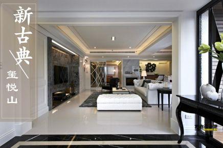 深圳沉稳新古典风格二居装修,实实在在的精品设计
