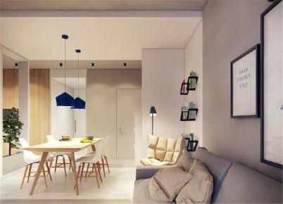 太原温馨简约风格二居室装修设计