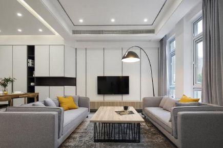 深圳簡約現代風格復式裝修,每一處設計都讓人心動