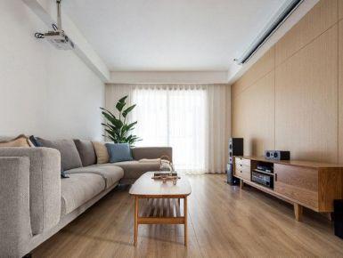 深圳日式風格三居室裝修案例效果圖展示