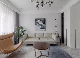 太原160㎡現代簡約三室裝修,簡單舒適的家居,愜意優雅