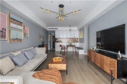 深圳北歐風格三居裝修,輕松美好的小情調 ????