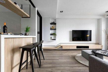 深圳現代簡約風裝修,簡潔大方,自然舒適