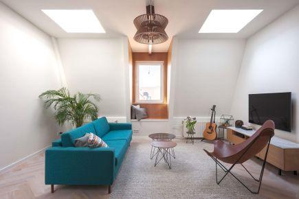 福州簡約復式公寓裝修,溫馨舒適的理想之家!