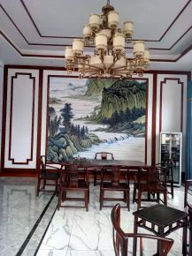 重庆中式风格别墅装修,与奢华为邻,与品位共舞