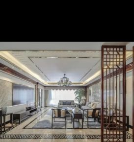 西宁古典雅致中式风格三居装修效果图