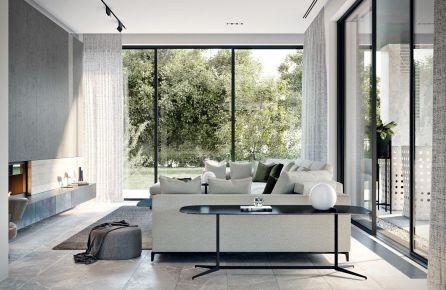 福州現代復式別墅裝修,都市生活的一種美好詮釋