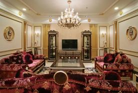 成都国宾润园 复古典雅欧式风格三居装修案例