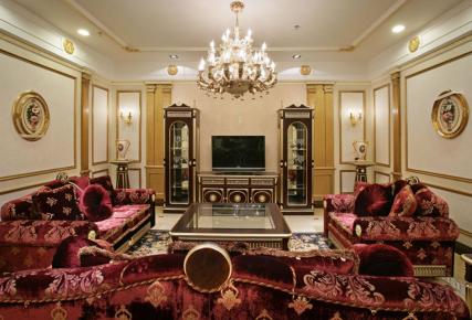 成都國賓潤園 復古典雅歐式風格三居裝修案例