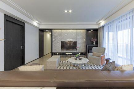 杭州西溪北苑現代風格三居裝修設計,簡單素雅越看越耐看!