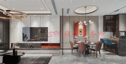 蘇州現代輕奢風格裝修,給你一個有質感的家!