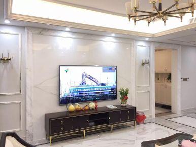 東莞浪漫優雅歐式風格四居裝修設計效果圖展示
