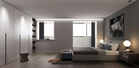 北京時尚大氣簡約現代風格三居室裝修案例效果圖
