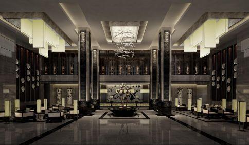 武漢光谷君和格雷斯酒店,古典中式風格裝修