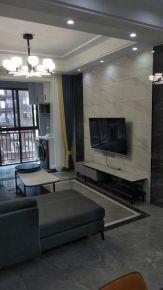 南昌簡約現代風格兩室裝修效果圖案例展示