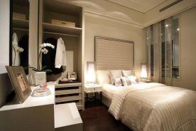 南通现代轻奢风格三居装修案例效果图展示
