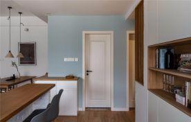 乌鲁木齐105㎡舒适北欧两居室,温馨而实用的乐活小筑
