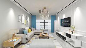 郑州现代简约风格三居装修效果图展示