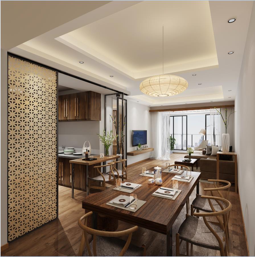 新中式 2房1厅
