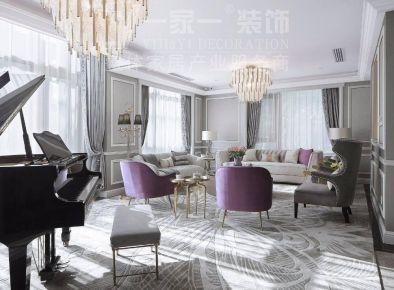 太化紫景天城132平米法式風格裝修案例