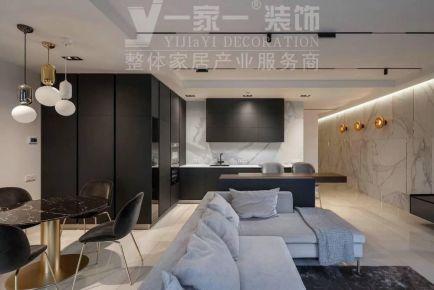 太原半山中庭120平米現代簡約風格裝修案例