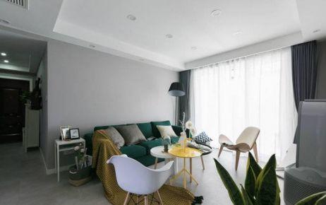 太原半山中庭120平米三居现代简约风格装修案例