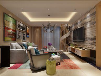 現代時尚簡約復式樓裝修設計案例