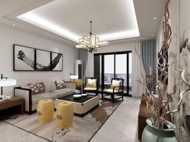 新中式四居室裝修設計案例