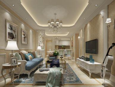 簡歐風格裝修設計案例,享受浪漫優雅的家居生活