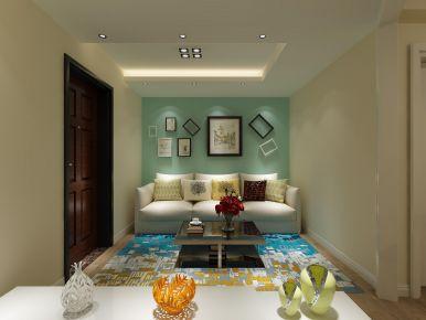 現代簡約兩居室裝修設計案例,純粹又美好