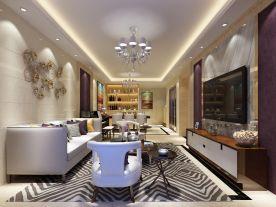 現代風格四居室裝修設計案例,簡約卻不簡單