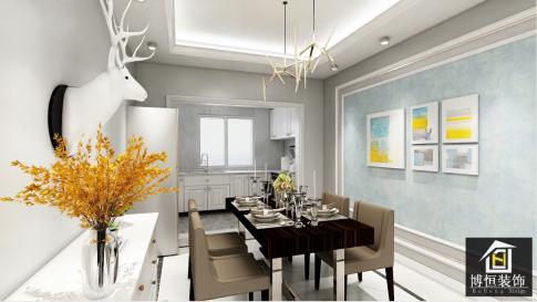 昆明輕奢風格三居裝修案例,精致高端有態度