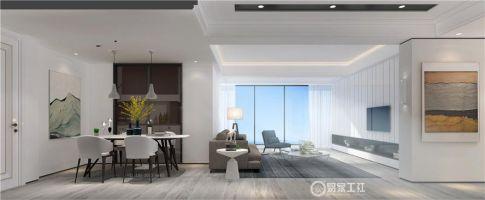 泉州自建房時尚大氣現代風格三居裝修