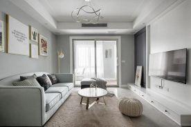 西安北欧风格88㎡两室一厅装修案例