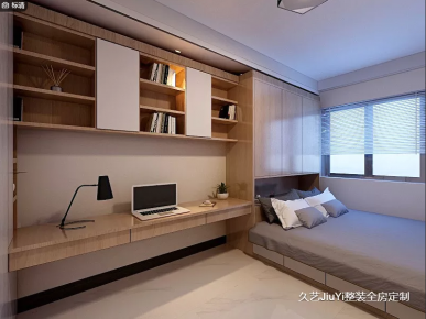 煙臺天鴻首府現代簡約二居室裝修