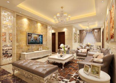 东莞简约欧式风格四居室,简约不简单,超大气装修