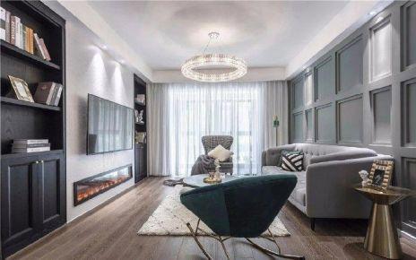 太原龍城半島輕奢風格三居室裝修案例