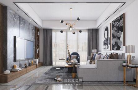 廣州現代輕奢三居室裝修,演繹優雅氣質和生活美學