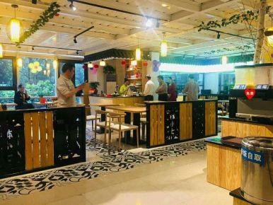钵小七餐厅中式田园风格装修