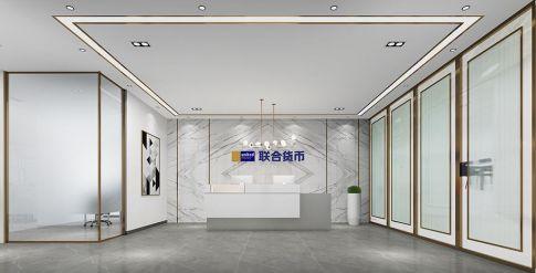 东莞国贸办公室简约设计