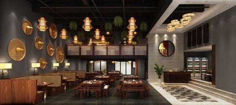 松山湖餐飲會所中式設計