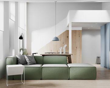 清新而優雅的北歐loft公寓,簡而優雅的家