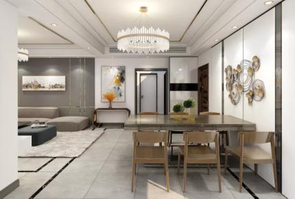 現代主義風格的公寓