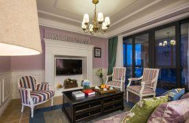 高貴典雅歐式風格四居室裝修