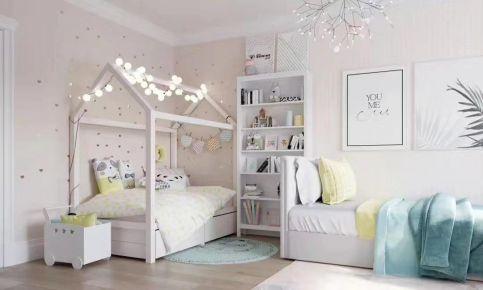 青島溫馨極簡風格三室裝修