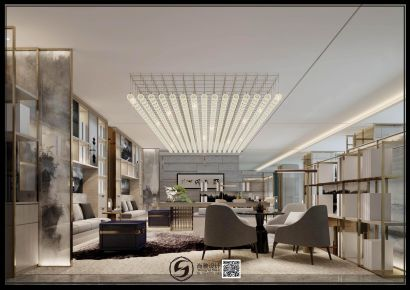 亚朵酒店现代轻奢风装修,高端大气有档次