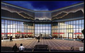 广州远东招商中心创意混搭风设计