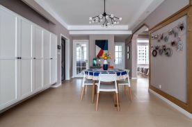 河北石家莊紫蘋果裝飾新客東園100平兩室一廳案例圖